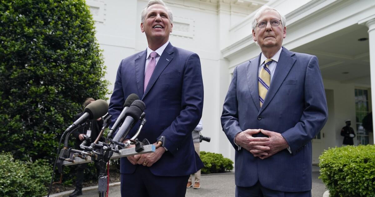 The GOP case against Biden muted by Trump-Cheney battle