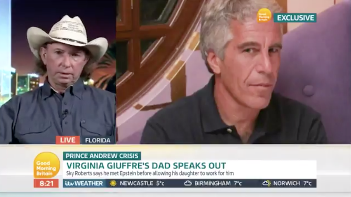Father of Epstein rape accuser: He was killed by 'somebody from above'