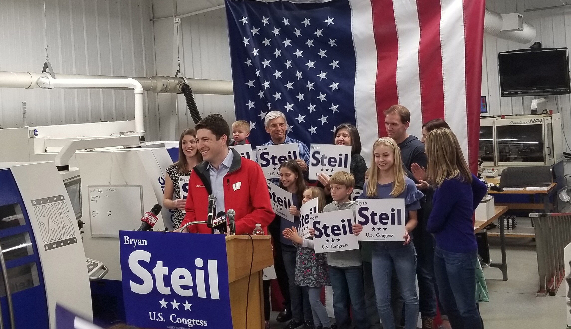 Meet Bryan Steil, the 37-year-old GOP front-runner in the