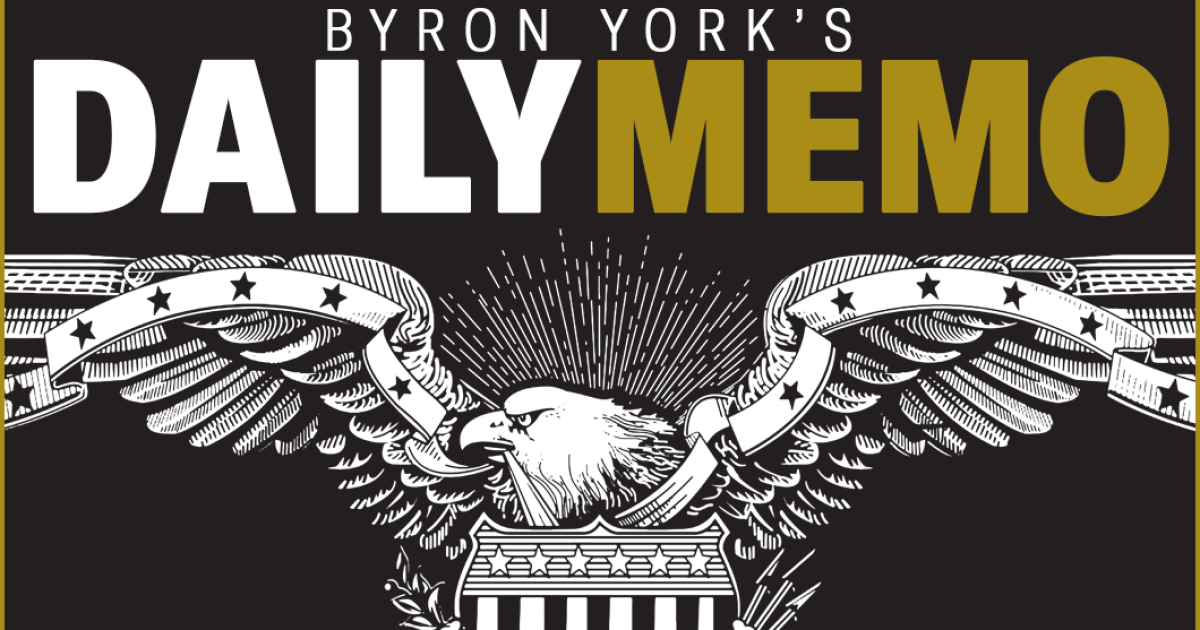 Byron Yorks Daily Memo: Why not hold the first presidential debate...