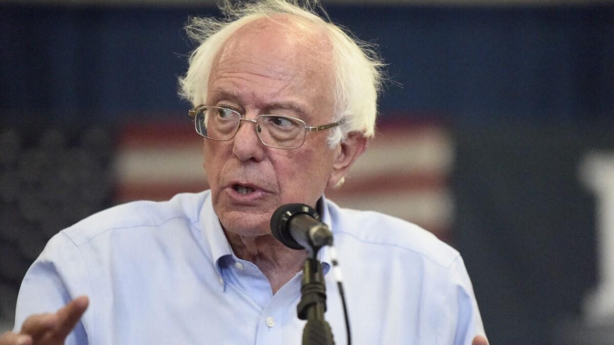 Bernie Sanders' criminal justice reform plan is actually pretty good