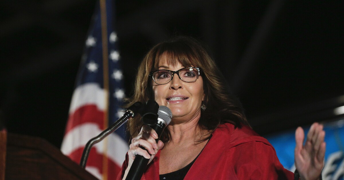 'It's not over': Sarah Palin says she is fighting to repair her marriage - Washington Examiner