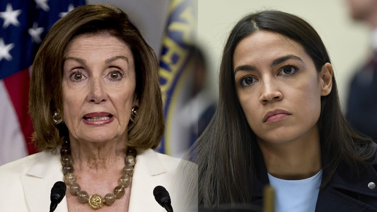 AOC did not walk back her attack on Pelosi. She just reworded it