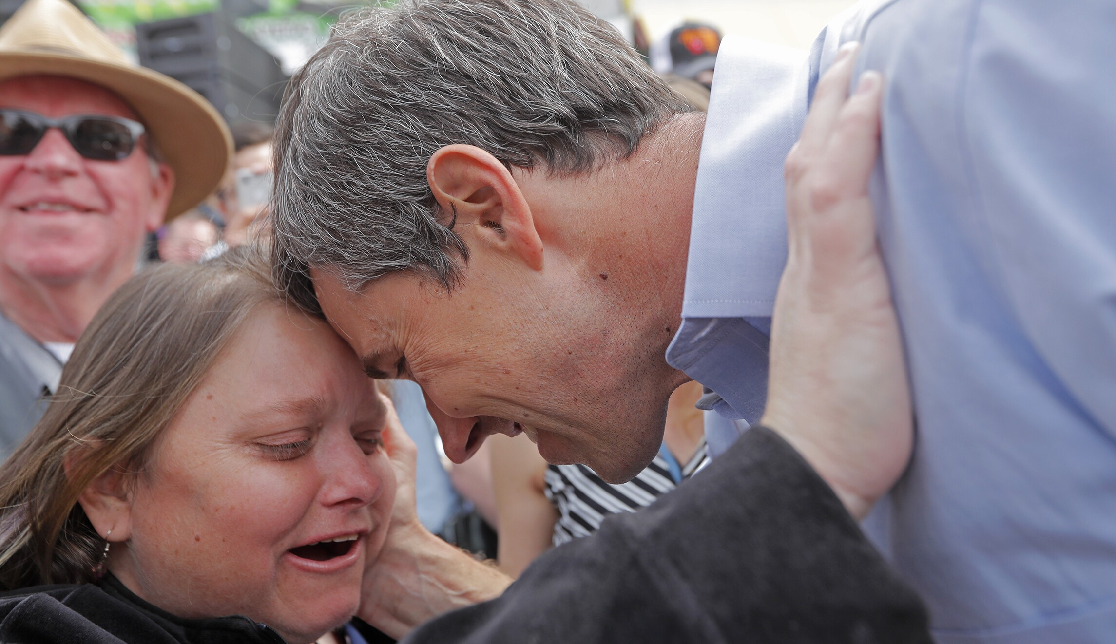 'No greater advocate': Beto O'Rourke hails intellectually impaired sister Erin as he unveils disability plan