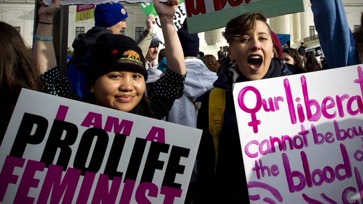 No, feminists, the pro-life movement is not 'fundamentally about misogyny'