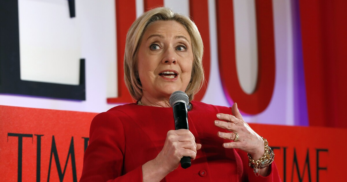 Hillary Clinton dishes on her 'weird personal history' with impeachment