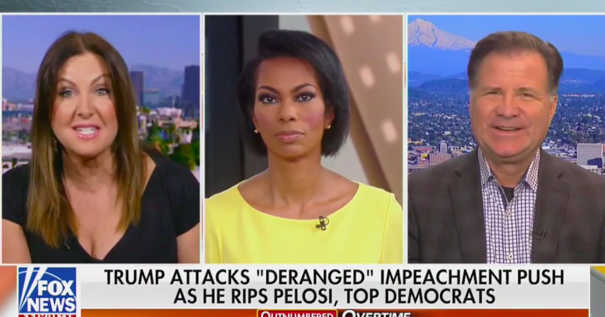 Fox News guest names alleged whistleblower Eric Ciaramella after network warns hosts against it
