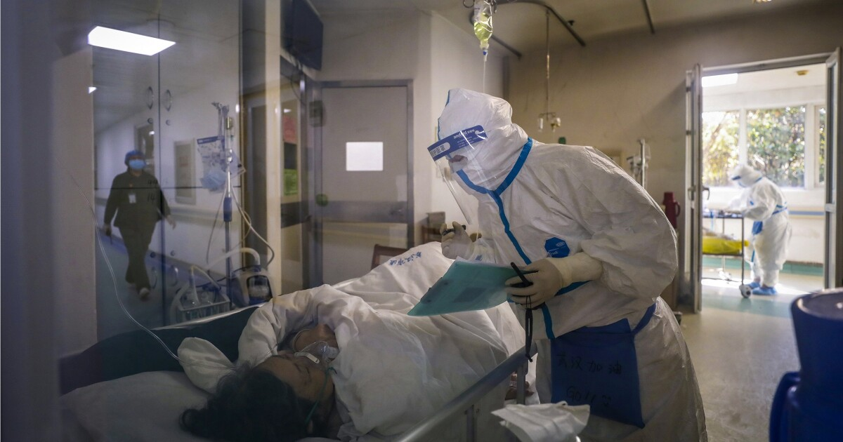 Chinese official vows 'complete victory' over coronavirus in a month