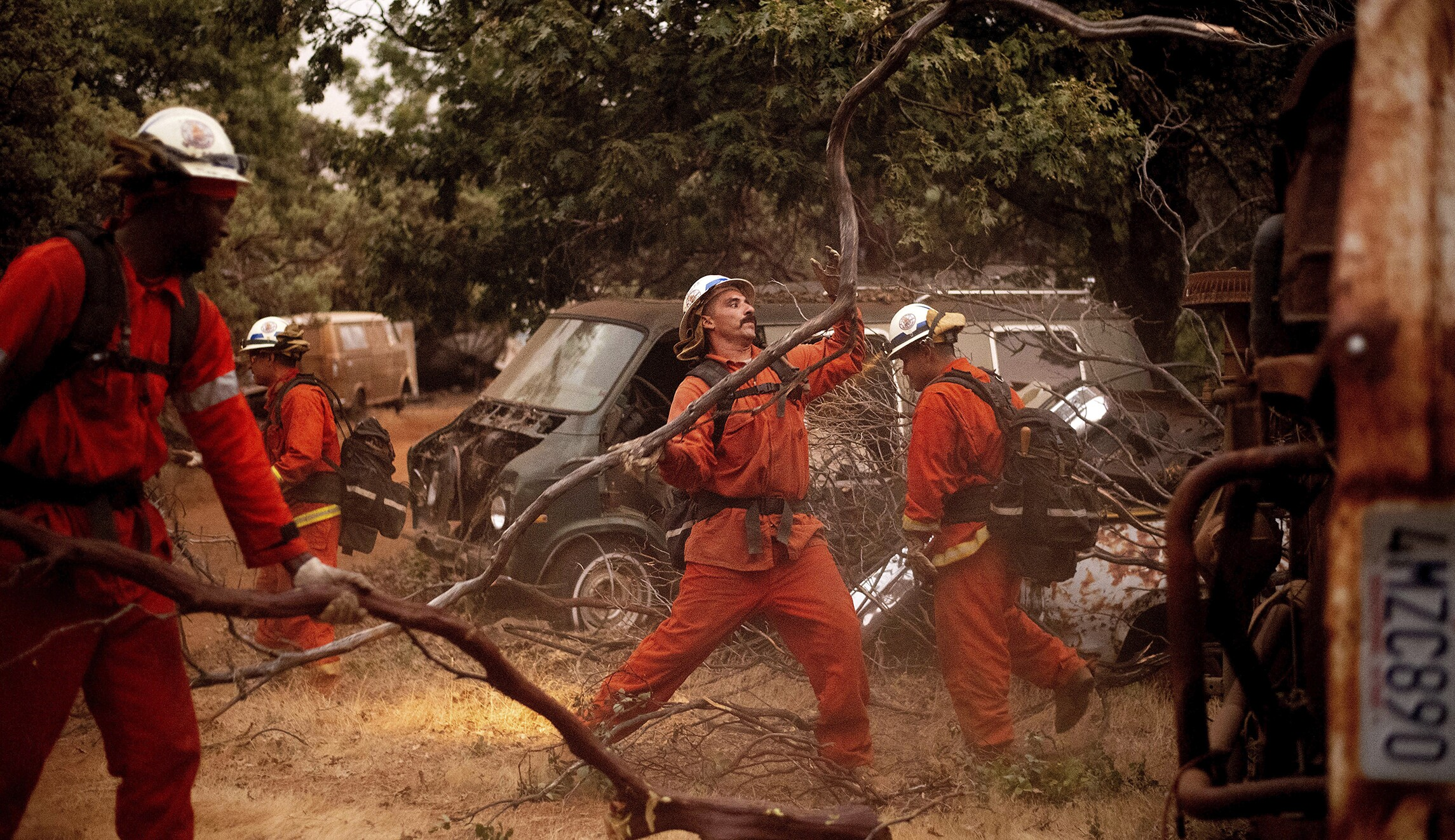 They Fought Wildfires As Inmates But California Wont Let Them