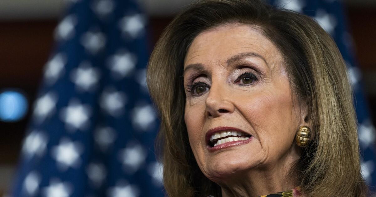 Pelosi bristles at coronavirus compromise pressure