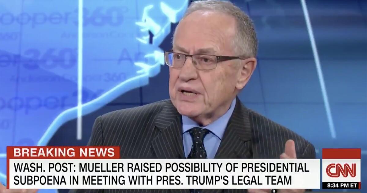 Alan Dershowitz threatens libel lawsuit against CNN over impeachment coverage