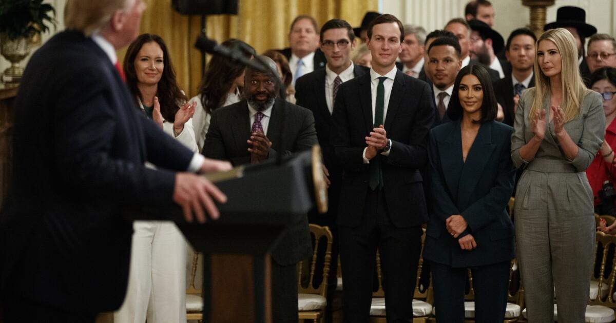 Trump: Jared Kushner is the 'father of criminal justice reform'