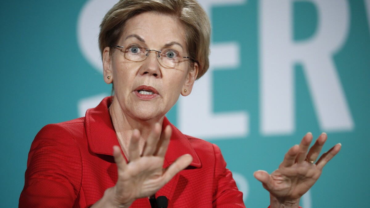 Warren faces multiple pro-Trump protests in Nevada