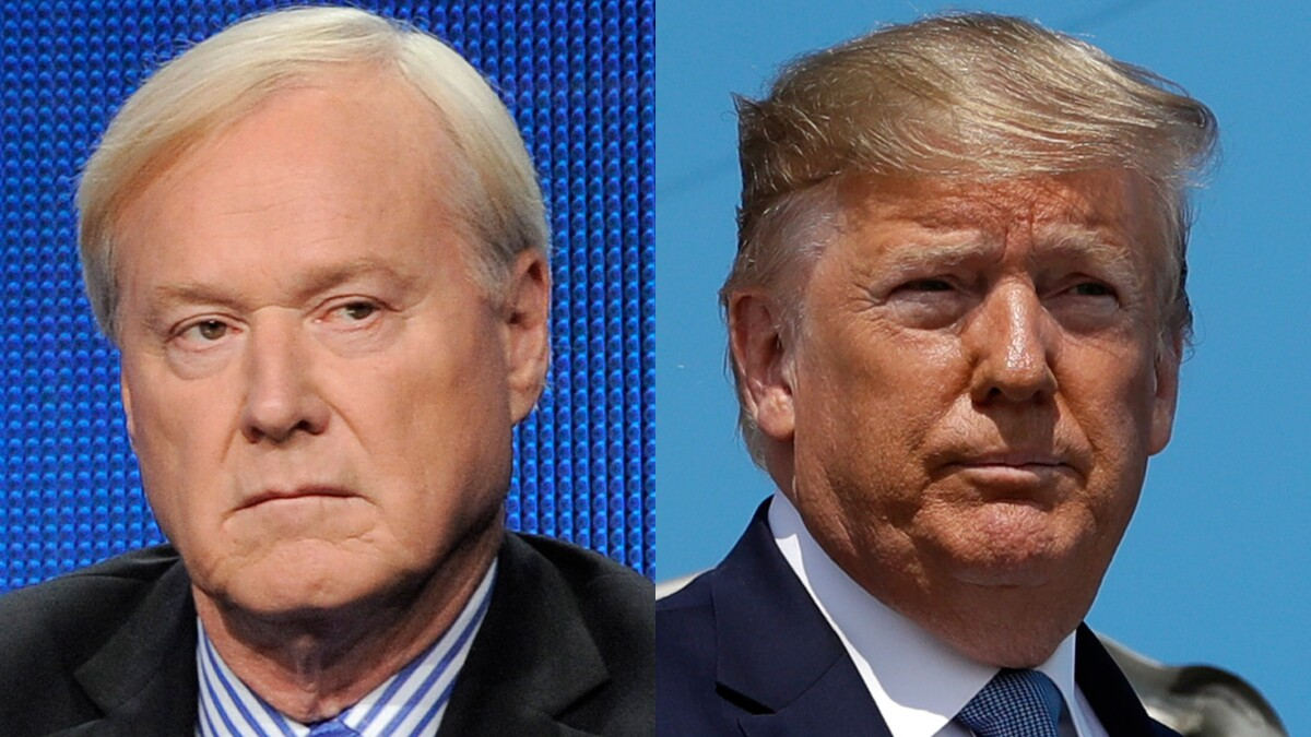 MSNBC's Matthews: Trump 'is scared to death to lose his virginity' on gun control