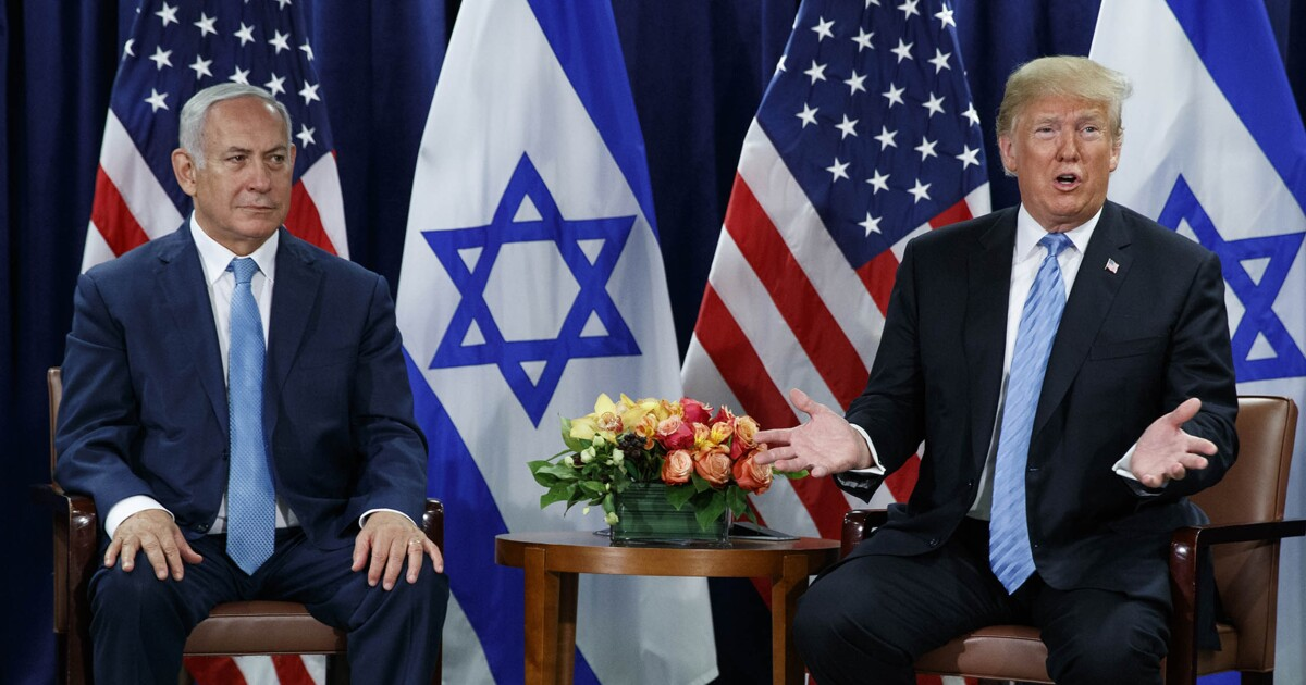 Trump is offering Benjamin Netanyahu a big carrot; he must also wield a stick
