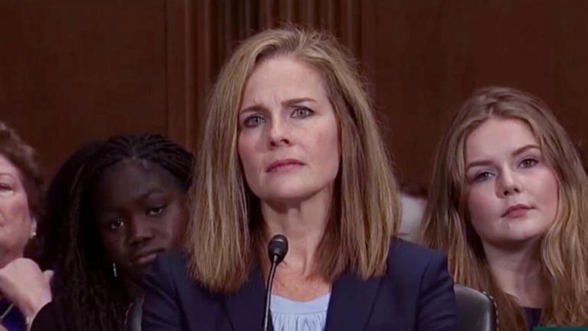 Judge Amy Coney Barrett says greatest threat is 'people perceiving us as partisan'