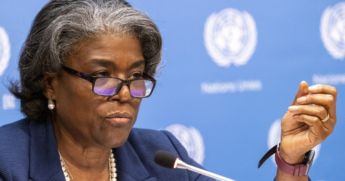 Why does Biden let the UN ambassador tell the world the US is racist?