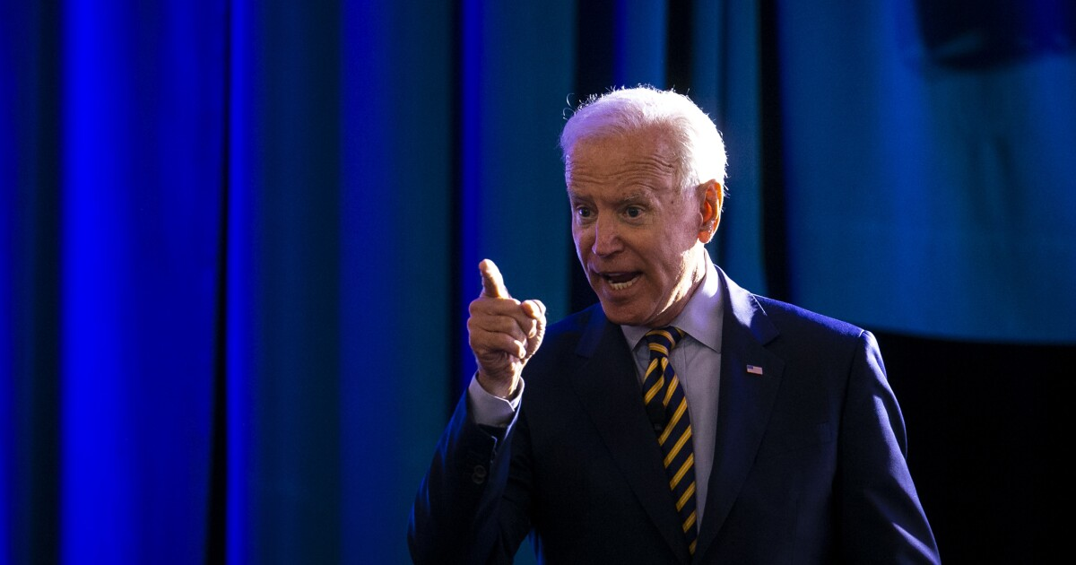 Joe Biden's OK debate against a weak rival shouldn't be confused for a  stellar performance