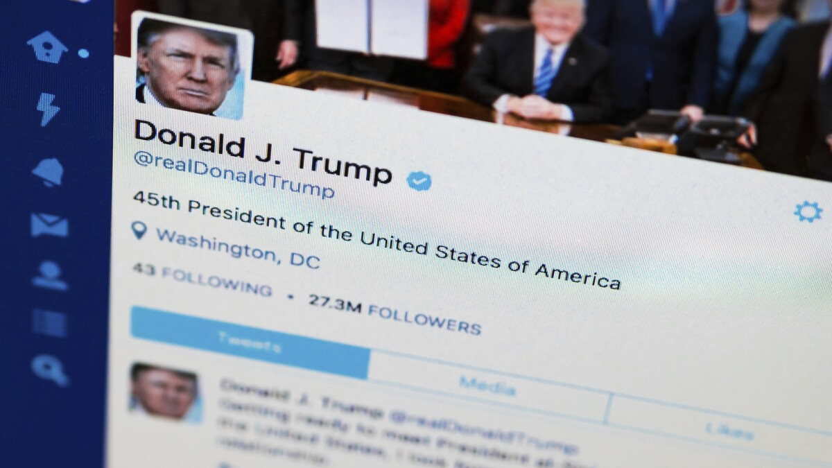 'Especially dangerous': Trump's Twitter account vulnerable to hacking attack
