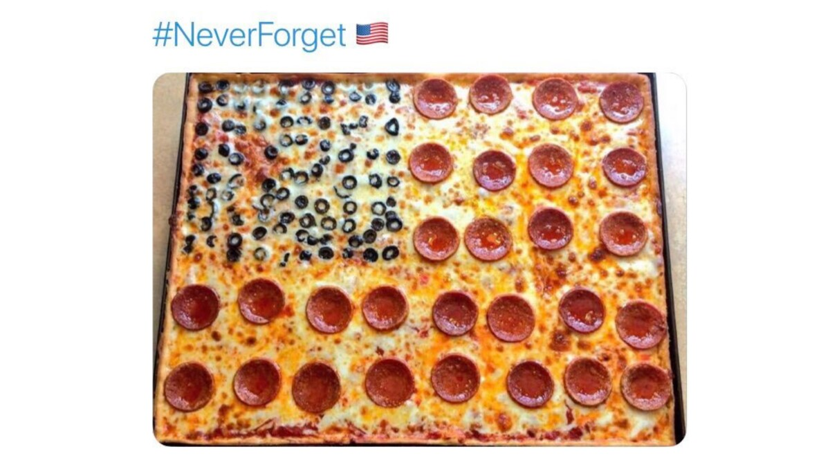 'Triggered by a freaking pizza': Restaurant chain apologizes for offering patriotic fare on 9/11