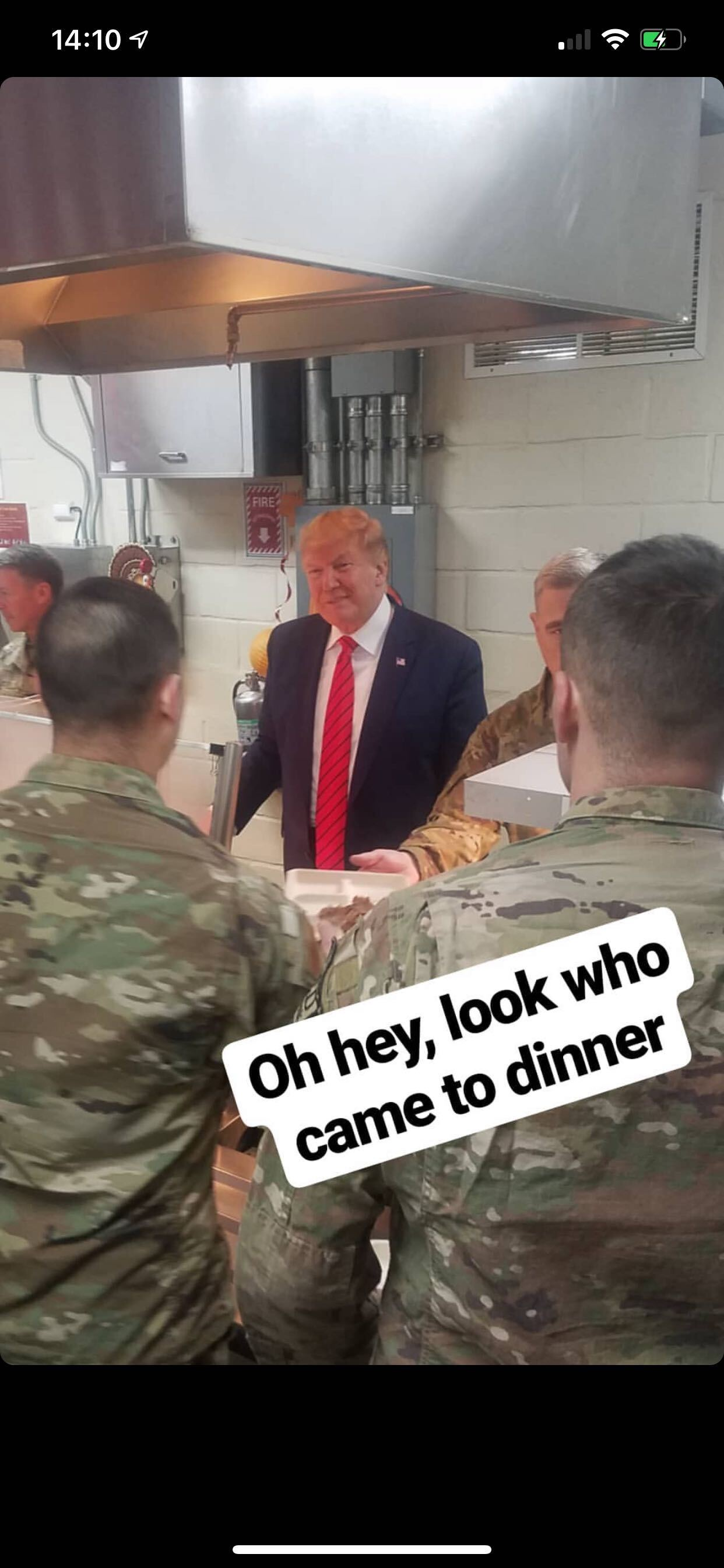 Trump Afghanistan Thanksgiving