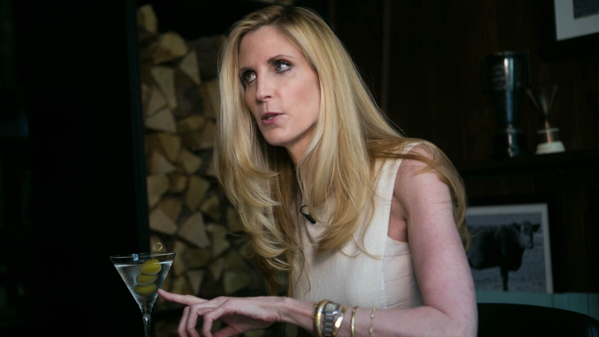 Ann Coulter hits back at Trump for 'wacky nut job' taunt