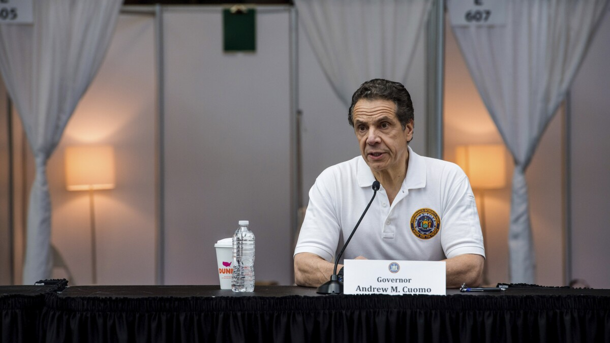 Cuomo: Federal government needs to fill New York's budget gap