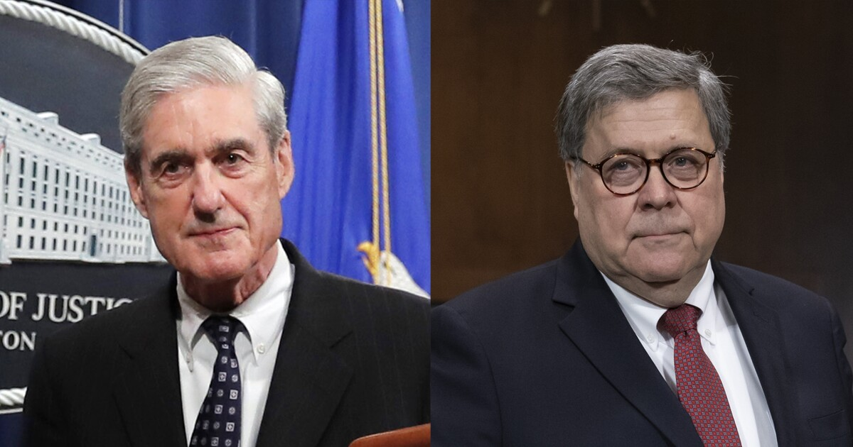 DOJ turns over unredacted Mueller report to judge who questioned Barr's 'credibility'