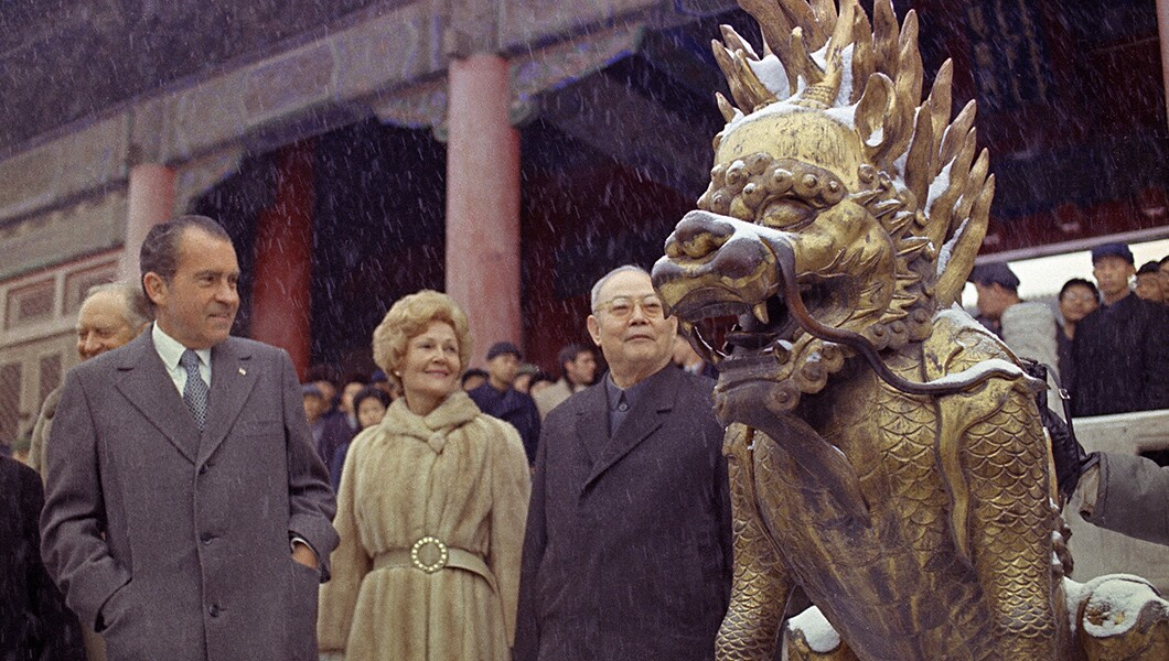 Image result for nixon china images