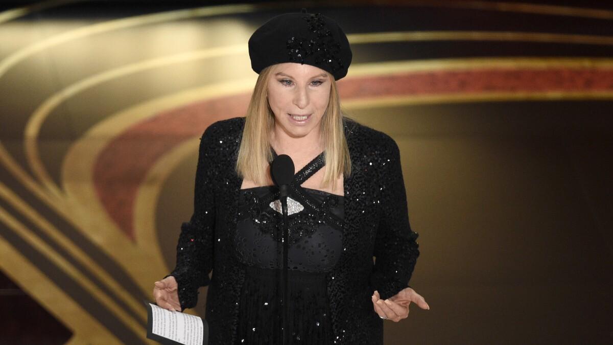 Barbra Streisand shares cartoon of Pelosi killing Trump with her stiletto heel