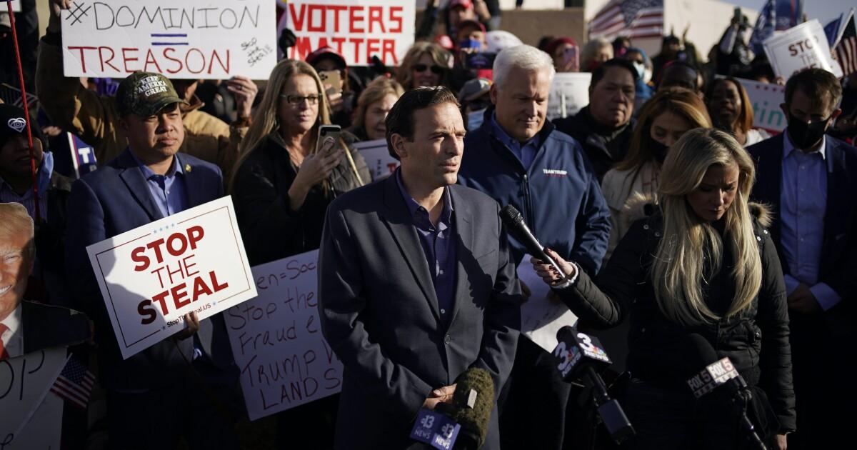 Dead Voters. Biden Van Full of Ballots. Trump Legal Team Details Shock Nevada Claims