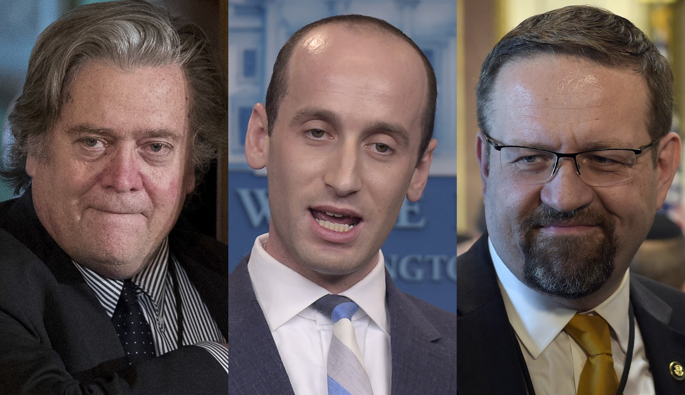 Image result for trump inner circle white supremacists