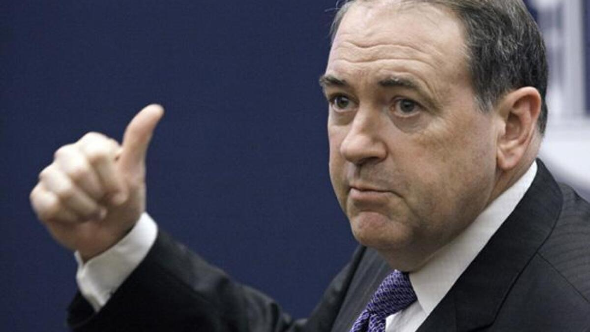 Mike Huckabee: It would be nice if Romney won in 2012 so we could impeach him now