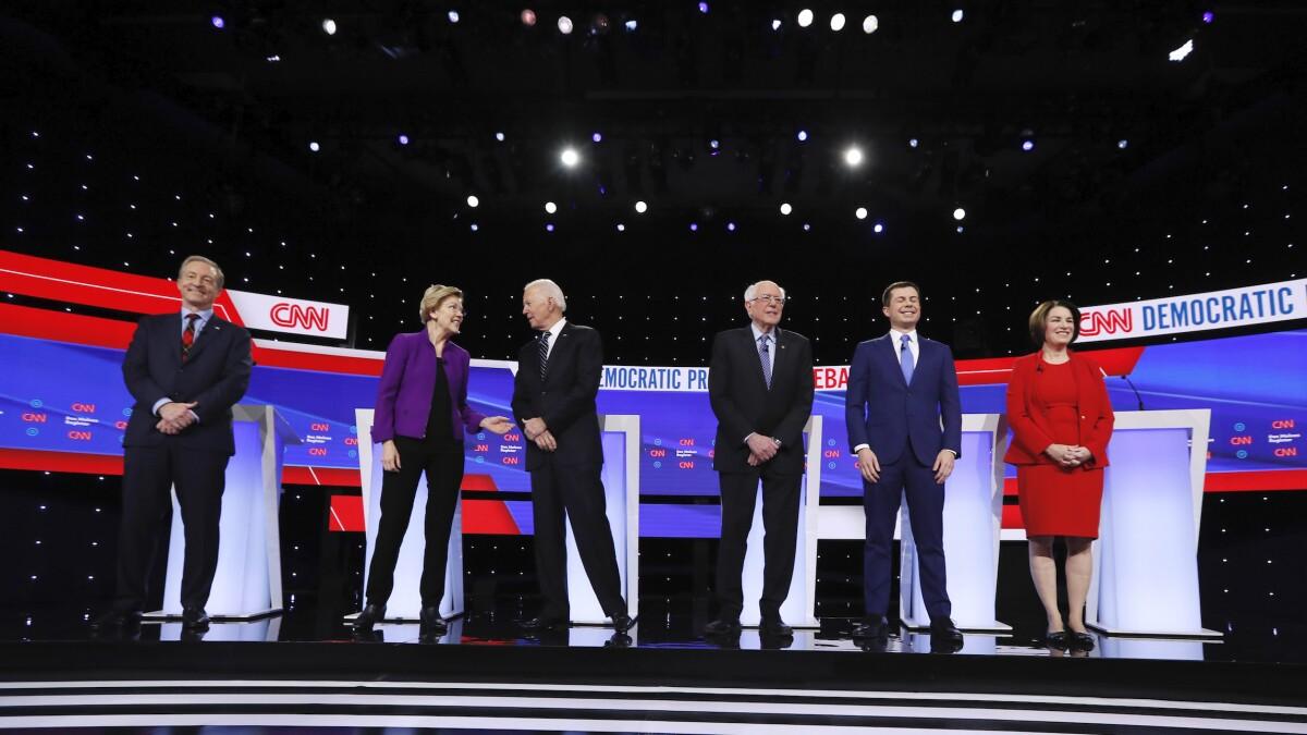 'Joe saw it differently': Sanders slams Biden for Iraq War vote in Iowa debate