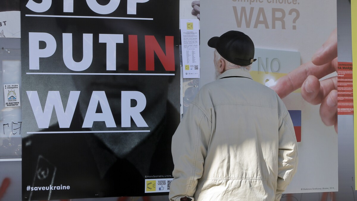 Ukrainians 'ready to protest': Kurt Volker warns Zelensky to hold fast against Putin in Paris talks