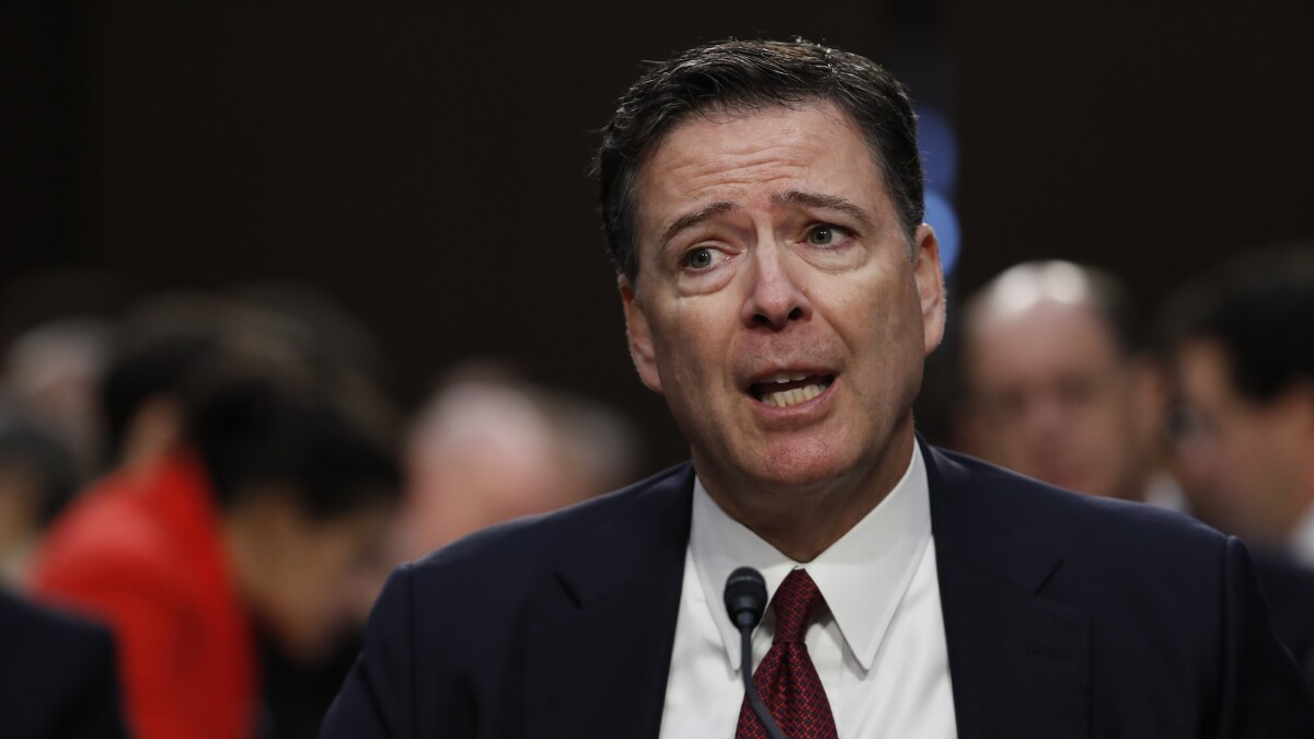 Former senior FBI agent wonders how Comey's 'hope to be forgotten' squares with new CBS mini-series