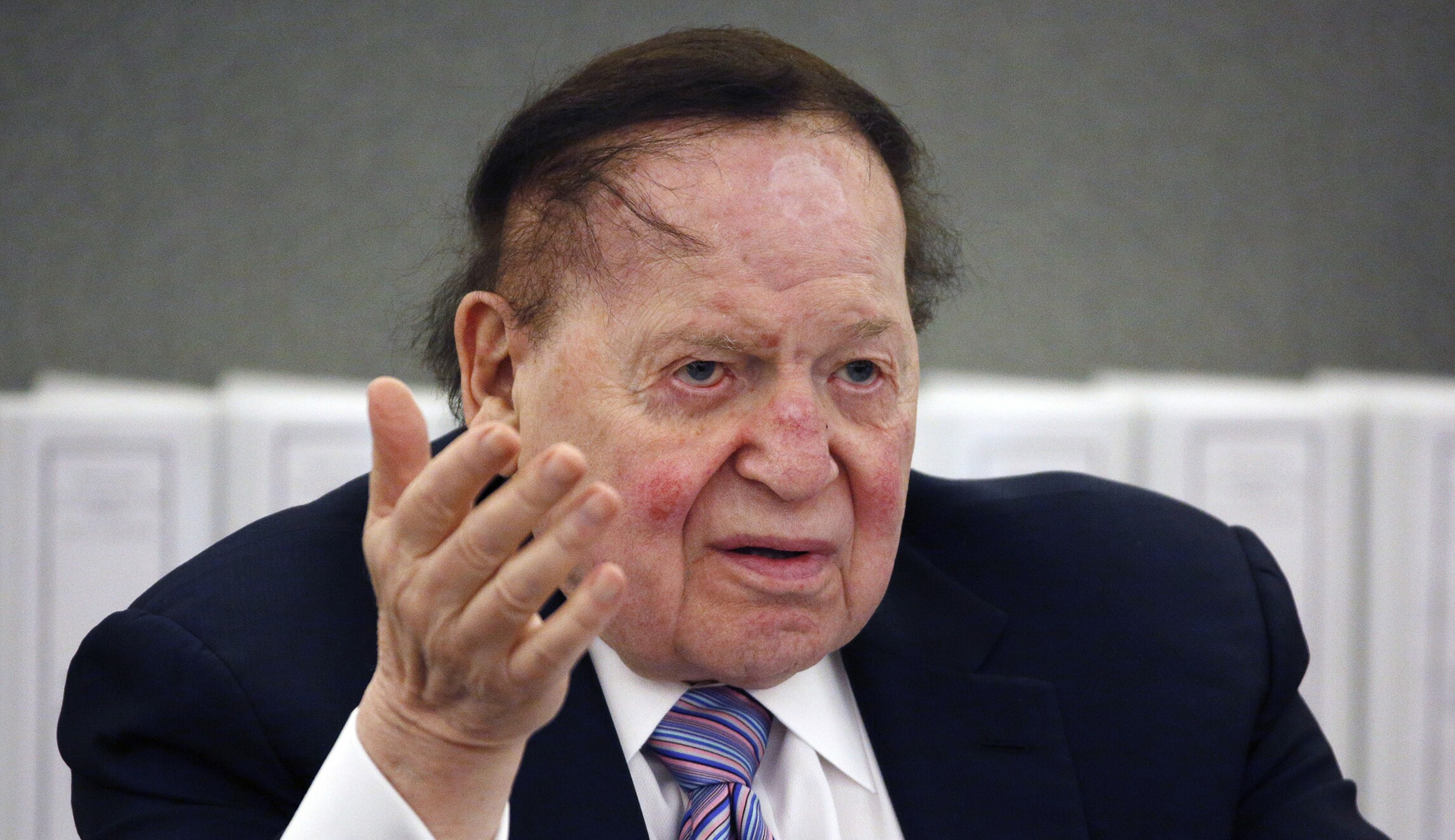 Sheldon Adelson offers to help...