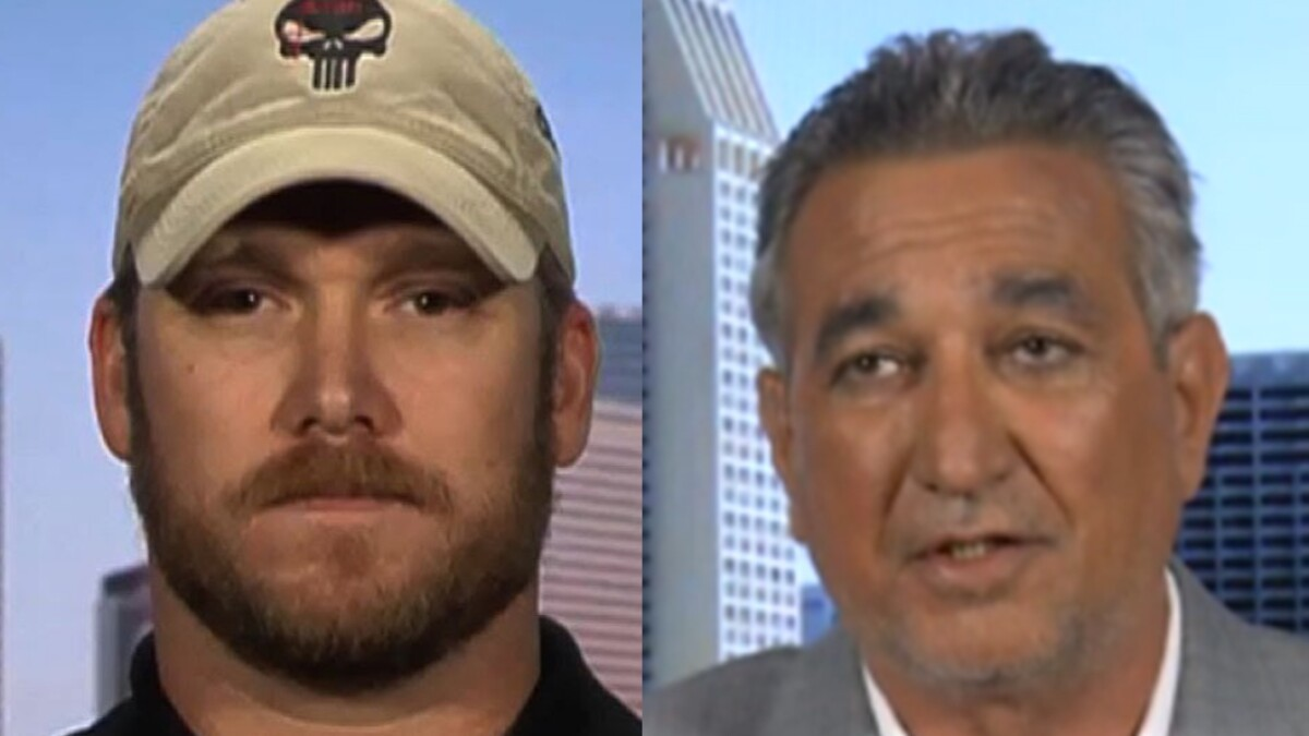 Chris Kyle's Iraqi interpreter becomes US citizen: 'I support Trump 100 percent ... We need to build the wall'