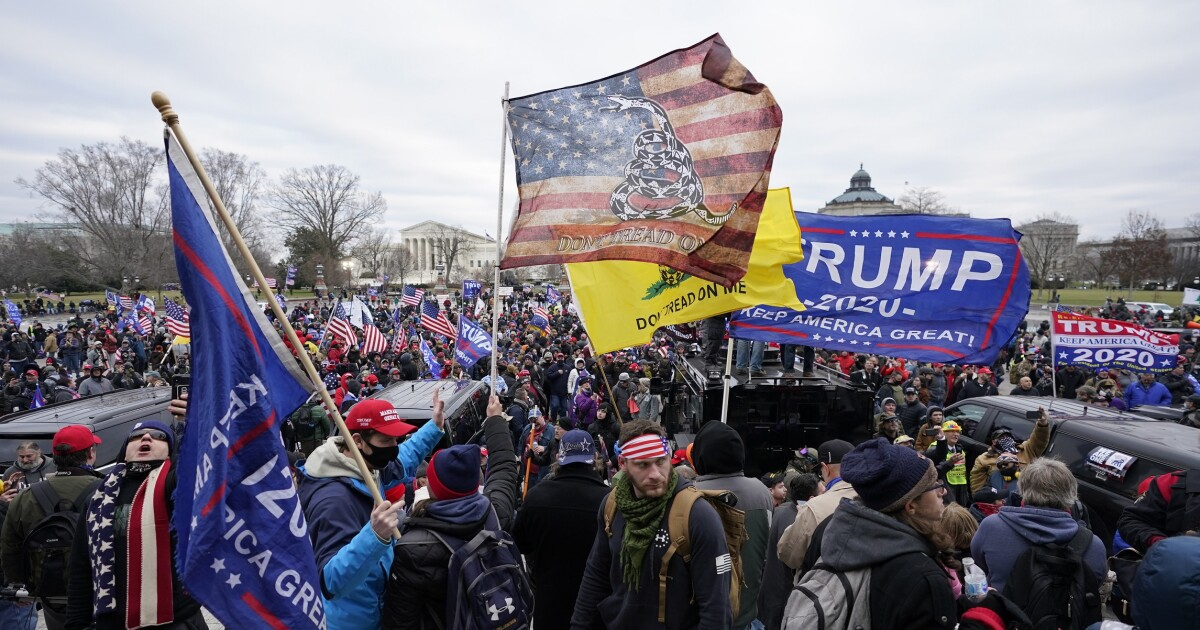 What I Saw at the Save America Rally in Wash. D. C. on Jan. 6, 2021