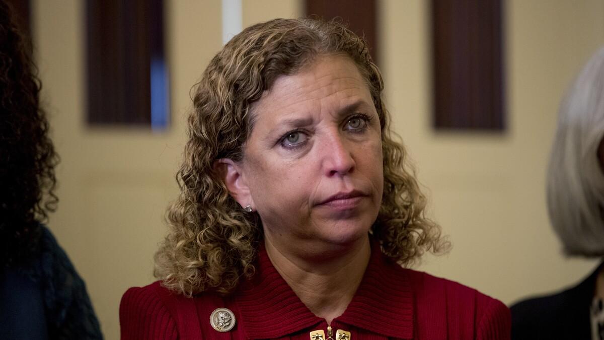 Debbie Wasserman Schultz demands Epstein investigation