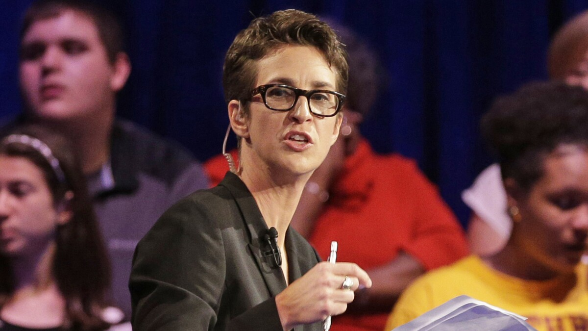 Rachel Maddow: DOJ review of Russia inquiry looks like 'dangerous' plot to boost Trump in 2020