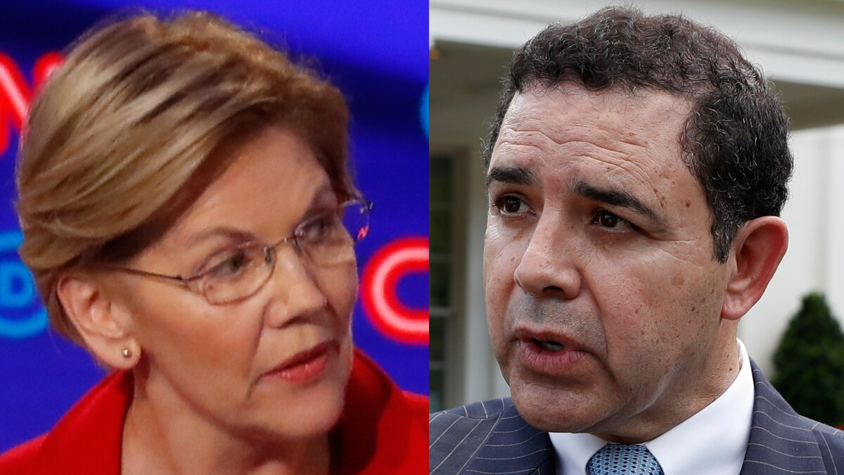 'Less than honest about their past': Incumbent Democrat goes after Warren for endorsing his challenger