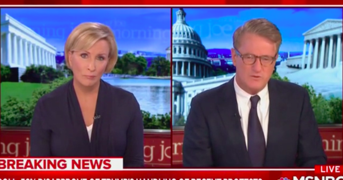 Joe Scarborough demands Esper resign after joining Trump in photo by historic church