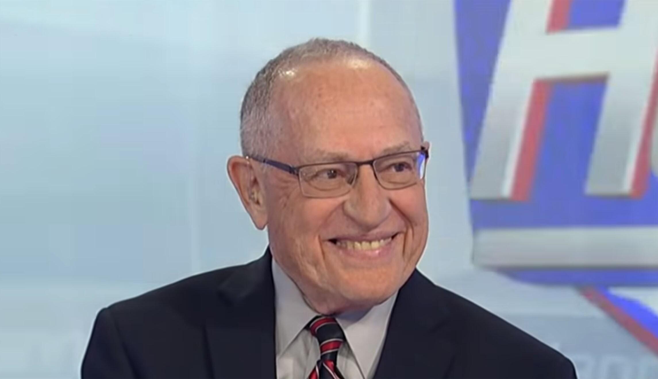 Dershowitz screenshot