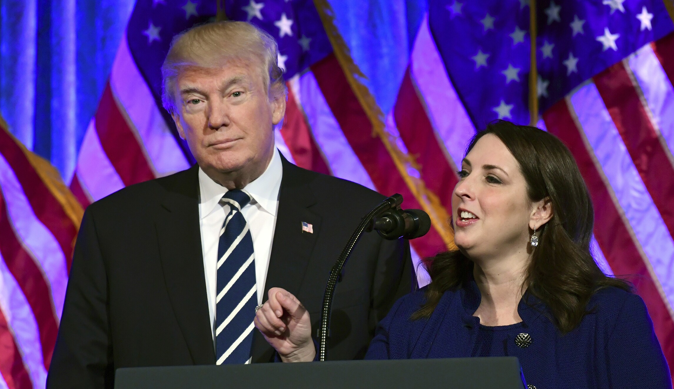 Trump asks Ronna McDaniel to stay for second term at RNC helm