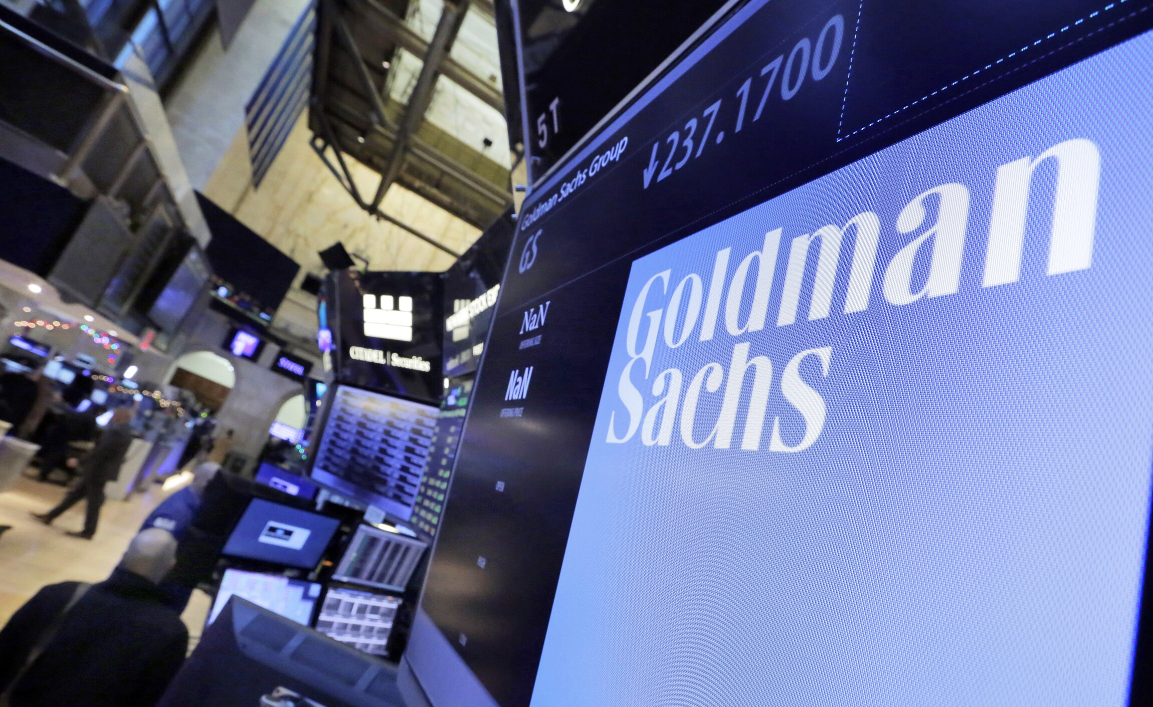 Why Goldman Sachs thrives in government
