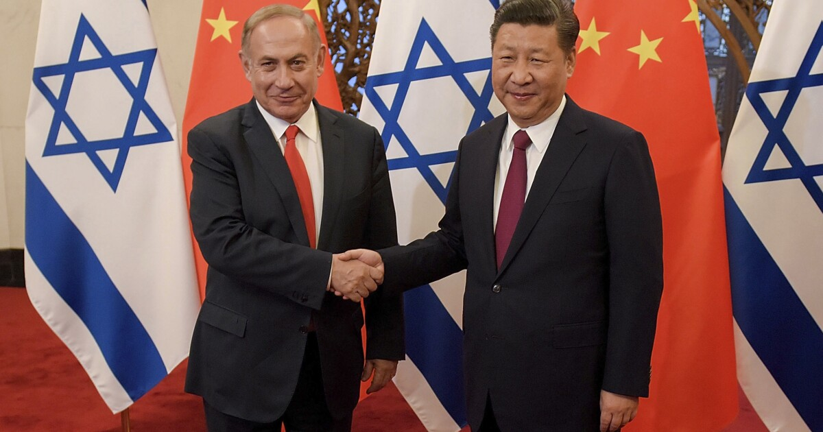 Trump must warn Israel on its China trade