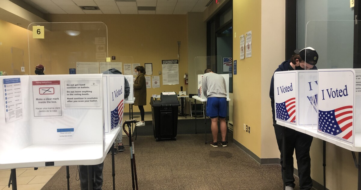 Early voting at record levels with six days left in campaign