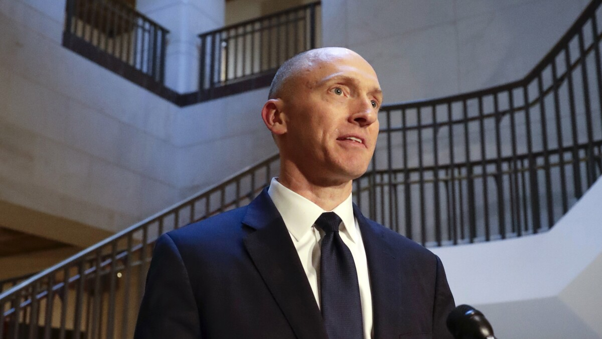 DOJ finds two Carter Page FISA orders 'not valid'