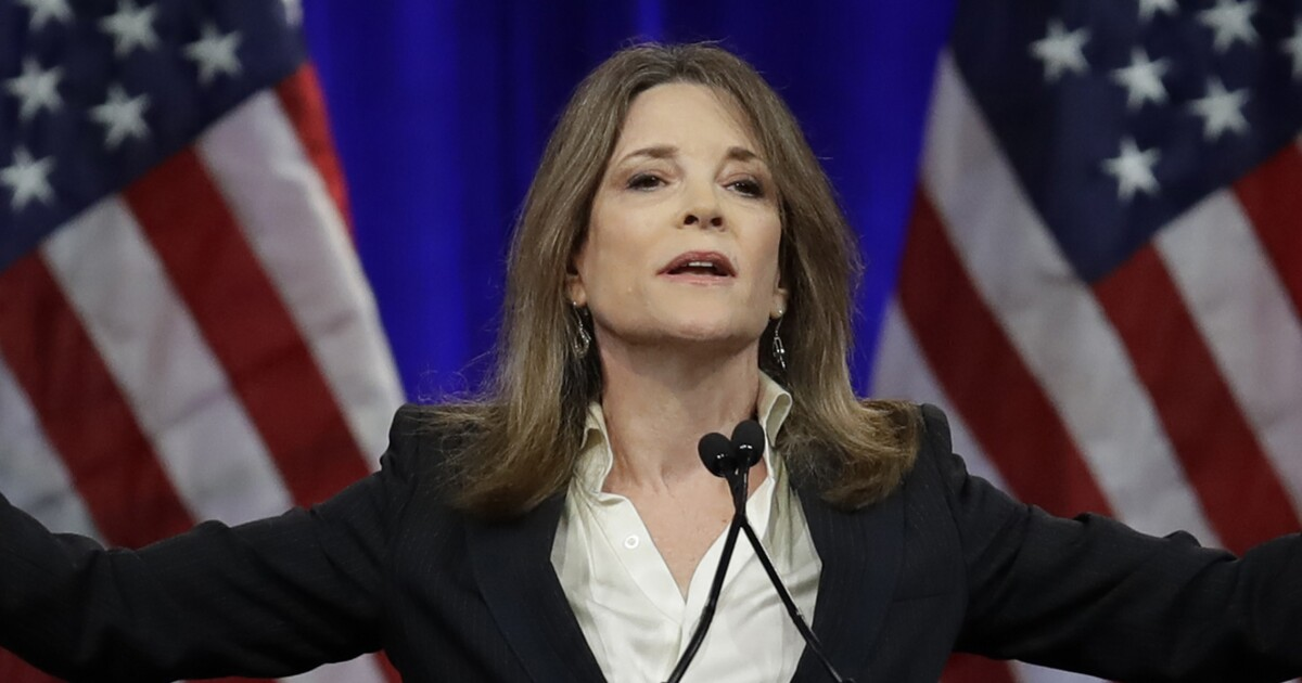 Marianne Williamson deletes tweet urging prayers against